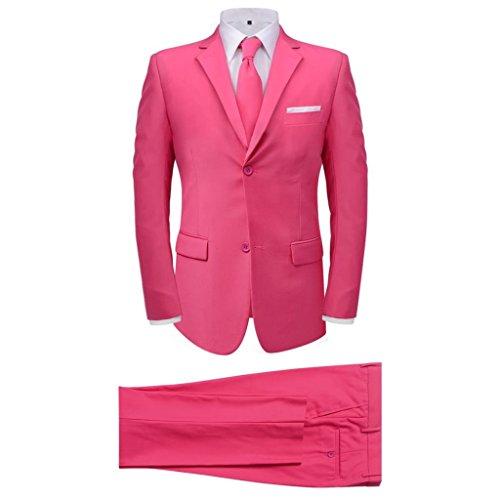 Conjunto Fato 2 Peças + Gravata Rosa T56 - 131102