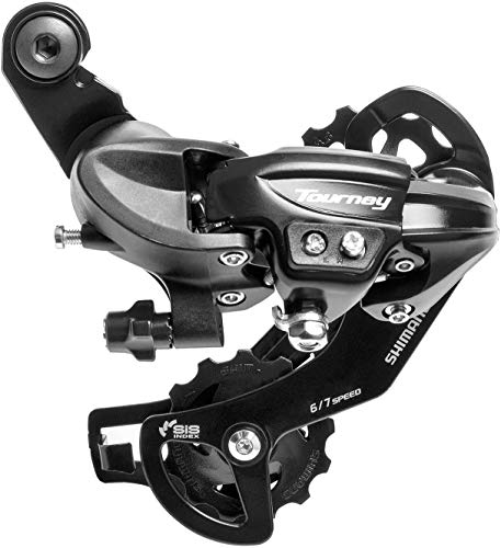 TAODE Bike Rear Derailleur with Direct Mount - Tourney RD-TY300-SGS - Long Cage - 6/7 Speed