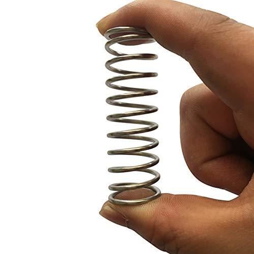Ruirli-Kits de muelles Proveedor de resorte de la compresión de metal de la bobina de metal barato, diámetro del cable de 2 mm x 18 mm de diámetro x (60-150) mm longitud Resistente al óxido y duradero