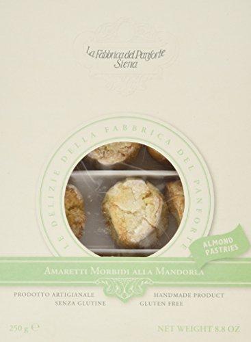 La Fabbrica Del Panforte Amaretti Morbidi alla Mandorla (Glten Free) - 2 Confezioni da 250 g