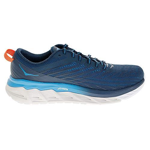 HOKA ONE ONE Men's Arahi 4 Running Shoes, Blue-Navy Blue, 10 US