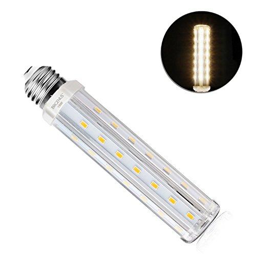 15W E27 LED Mais Birne Beleuchtung Warmweiß 3000K Energiespar Leuchtmittel Ersatz 100W Glühlampe für Küche Schlafzimmer Hängendes Licht Bad Esszimmer[Energieklasse A+]