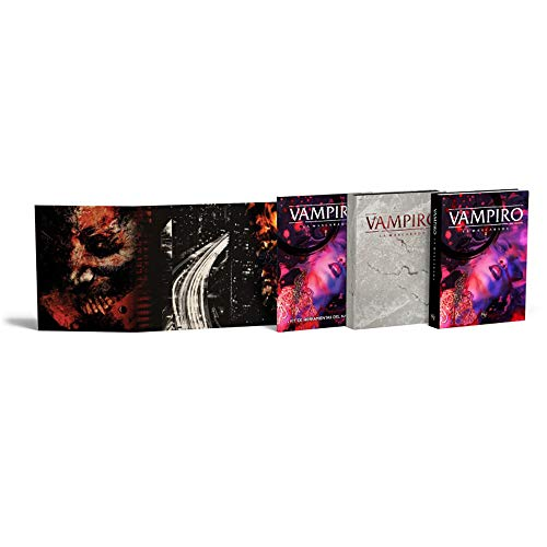 Vampiro: La mascarada 5º edición: Kit de herramientas del narrador (Pantalla)