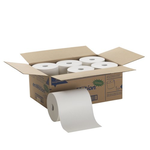 Georgia-Pacific 894-60 Enmotion High Capacity Touchless Towel (Roll of 6), 800