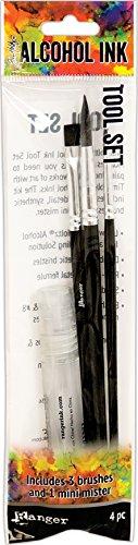 Ranger Kit d'outils pour Encre à l'alcool 19,6 x 5,8 x 1,5 cm, Matériau synthétique, Multicolore