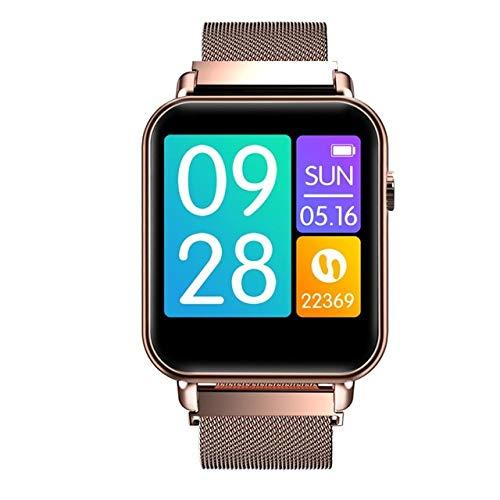 MOLINB Slim horloge 1.3inch Kleur Smart Watch Bloedzuurstof Bloeddruk Hartslagmeter Alarm Leven Waterdicht Sport Smartwatch Heren Dames