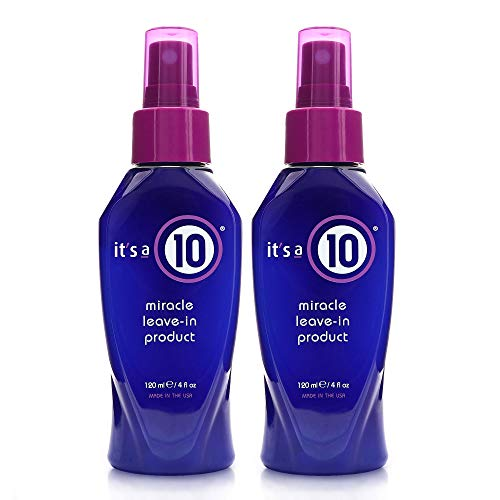 It#039s a 10 Haircare Miracle LeaveIn product 4 fl oz Pack of 2