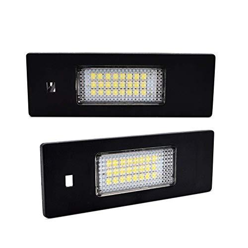 LncBoc LED Luz matrícula coche Lámpara Numero plato