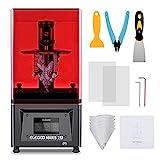 ELEGOO Mars 2 Pro Imprimante 3D, UV Resine 3D Printer avec Ecran LCD Monochrome 2K Charbon Actif Intégré, Impression Rapide et Haute Précision, Taille d'impression 129x80x120mm