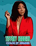 Tiffany haddish Color by Number: Tiffany haddish Color Book An Adult Coloring Book For Stress-Relief