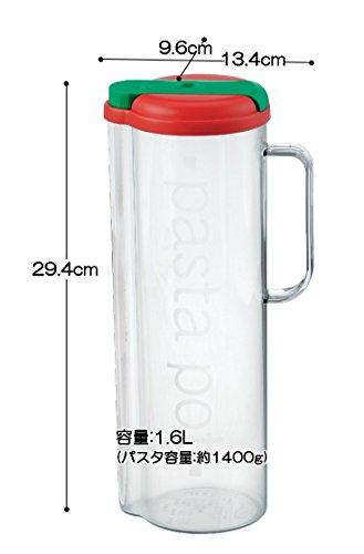 イノマタ化学パスタ容器なるほどパスタ1.6リットル