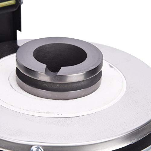Horno de fusión eléctrico Horno de fusión CNC Máquina de fundición Fundición de metal Horno de propano Herramientas de procesamiento de joyas de 2 kg para la fabricación de joyas para(pink)