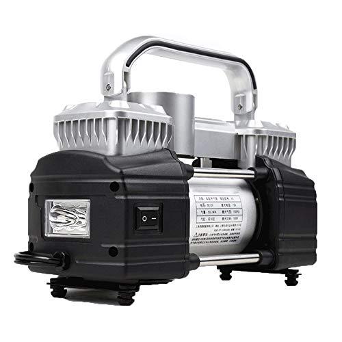 WNN-URG Neumático del, Coche Bomba de Aire del neumático portátil de compresor de Aire con Fácil de Leer Indicador de presión Digital, luz incorporada URG