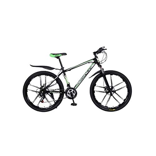 Learn More About GYR Outroad Mountain Bike Steel High-Carbon Steel Frame 26 Inch 21 Speed Bicycle (C...