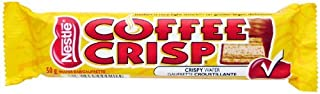 Nestle Coffee Crisp Chocolate Bars - 10 Pack - Imported From Canada