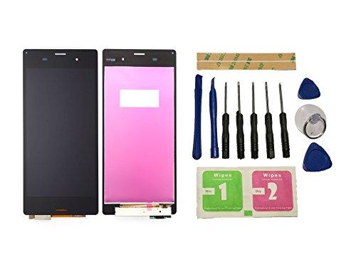 Flügel für Sony Xperia Z3 D6603 D6653 L55T Display LCD Ersatzdisplay Schwarz Touchscreen Digitizer Bildschirm Glas Assembly (ohne Rahmen) Ersatzteile & Werkzeuge & Kleber