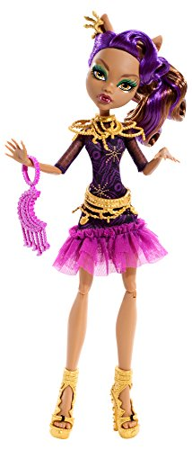 Monster High - Muñeca Alfombra Negra Clawdeen Wolf (Mattel BDF26)