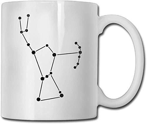 11 oz koffie mok, thee mok, Orion ster sterrenbeeld koffie mokken geweldig cadeau keramische thee kop, perfect cadeau voor familie en vriend