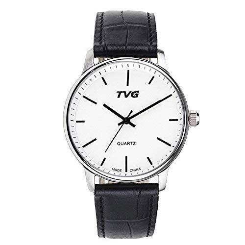 FENKOO TVG Armbanduhren TVG Uhr Herren Gürtel wasserdicht Quarzuhr (Color : 1)