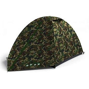 Husky, Tente EXTÉRIEURE BIZAM 2 Army, Couleur Camouflage