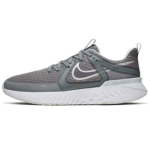 Nike Legend React 2 Mens At1368-003, Cool Grey/Metallic Silver-anthracite, 12