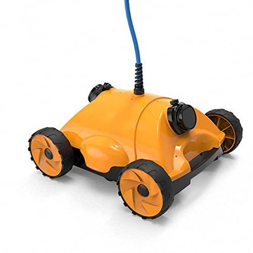 WDSWBEH Robot Nettoyeur de Piscine/aspirateurs de Piscine, Nettoyeur de Piscine Automatique de 13 m 120 Minutes de Temps de Travail, étanche IPX8, idéal pour Les piscines enterrées/Hors Sol