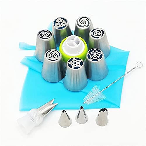 Sheep 1 juego de boquillas de punta de tubo, para pastelería, pastelería y pastelería, accesorios para decoración de tartas (color: N)