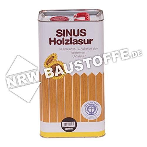 Burtex Sinus Holzlasur 5 Liter Farbe Weiß