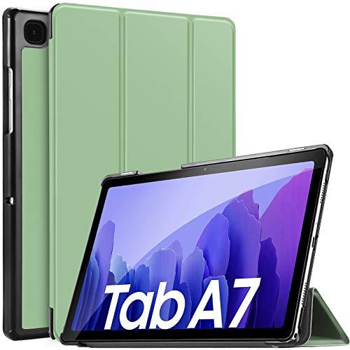 IVSO Funda Compatible con Samsung Galaxy Tab A7 10.4 2020, Compatible con Samsung Galaxy Tab A7 2020 Funda, Funda Case Compatible con Samsung Galaxy Tab A7 T505/T500/T507 10.4 2020, Light Green