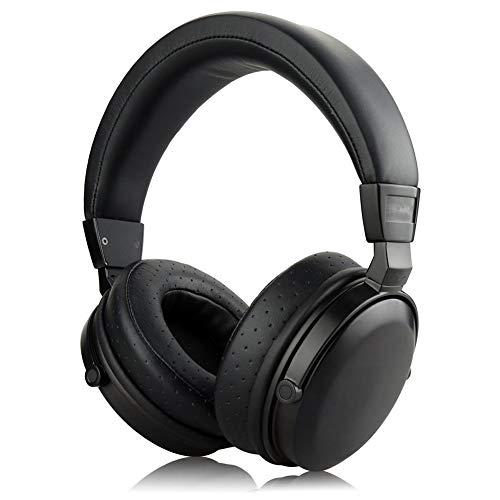 LSHUAIDJ Auriculares para Juegos de Negocios, Sonido, Madera, adecuados para ps4, PC, Juegos de Disparos