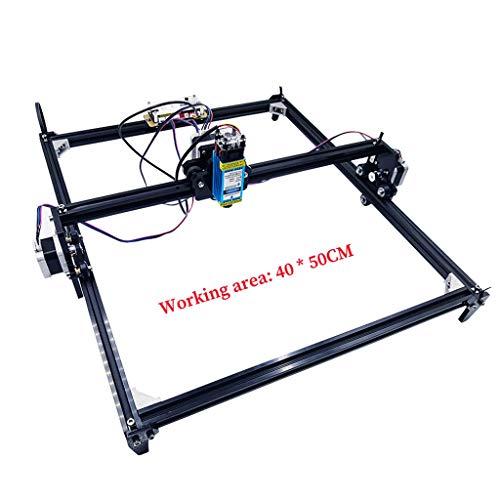 400x 500mm Laserlicht Ätzmaschine 2-Achsen DIY Mini-Laser-Licht Ätzmaschine, verwendet für Holz Desktop kleinen Laser-Lichtmaschine Schnitzen Schnitzen,15000mw