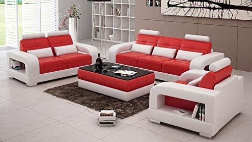 Best furnitures Designer Sofa Set for Living and Dining Hall 3+1+1+Center Table Free(Silver & Black)