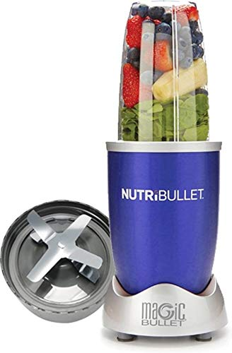 NutriBullet 600 watt Serie - Frullatore - 5 pezzi - LIMITED EDITION COLORE OCEAN BLUE - macchina smoothie - mangiare sano