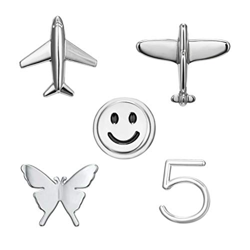 Yinuneronsty 5 Models Small Combination Pin Aeroplane