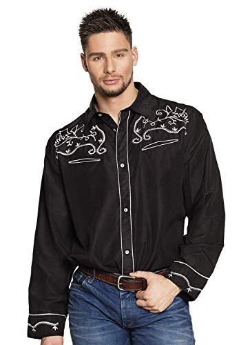 Boland Shirt Western schwarz