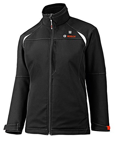 Bosch Women s 12-Volt Max Lithium-Ion Soft Shell Heated Jacket Kit with 2.0Ah Battery, Charger and Holster PSJ120S-102W