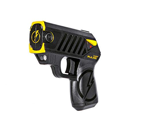 Taser Pulse with 2 Cartridges, LED Laser with/2 Cartridges, and Target,Black