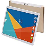 Tablet 10.1 inch,Android 8.1,Octa Core Processor,4GB RAM,64GB Storage,2MP+8MP Camera,1280X800 IPS Screen,GPS,WiFi,USB,Bluetooth (Gold)