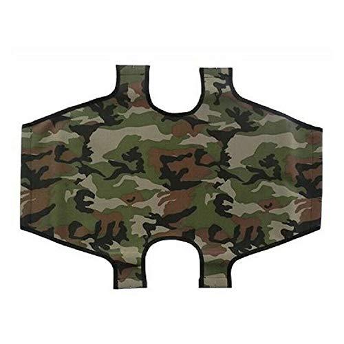 Leopet Ersatz-Abdeckplane für Hunde, faltbar, aus Oxford-Gewebe, wasserdicht, kratzfest und widerstandsfähig (60 x 100 cm, Camouflage-Grün)