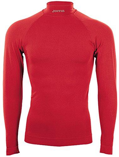 Joma Brama Classic - Maglia Termica a Manica Lunga da Uomo, Colore Rosso Taglia L-XL