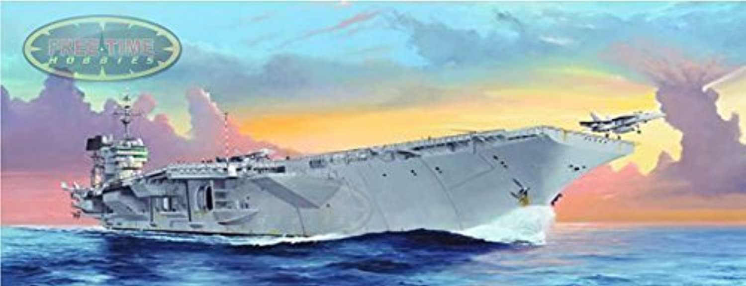 1 350 Trumpeter Trumpeter Trumpeter USS Kitty Hawk CV63 Aircraft Carrier Plastic Model Kit by Trumpeter 688183