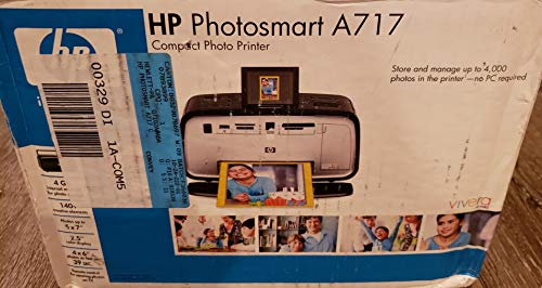 HP Photosmart A717 Compact Photo Printer
