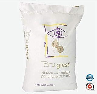BruGlass Hi tech arena de vidrio técnico abrasivo para