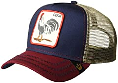 This hat is one of Goorin's signature, ever-evolving, animal farm collection pieces Adjustable snapback fitting for all sizes Weave type: Woven Fabric type: 100% Cotton