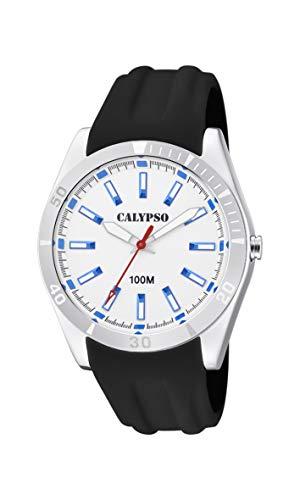 Calypso Watches Reloj Analógico para Unisex Adultos de Cuarzo con Correa en Plástico K5763/1