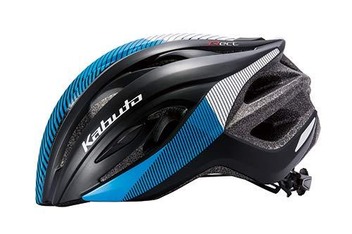OGK KABUTO(オージーケーカブト) ヘルメット RECT (レクト) G-1マットブラックブルー サイズ: M/L