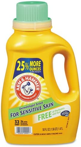 Arm Hammer Award-winning Excellence store 3320000103 HE Liquid Compatible Unscented Detergent