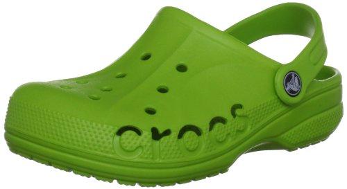 Crocs Baya Kids, Zuecos Unisex Niños, Verde Volt