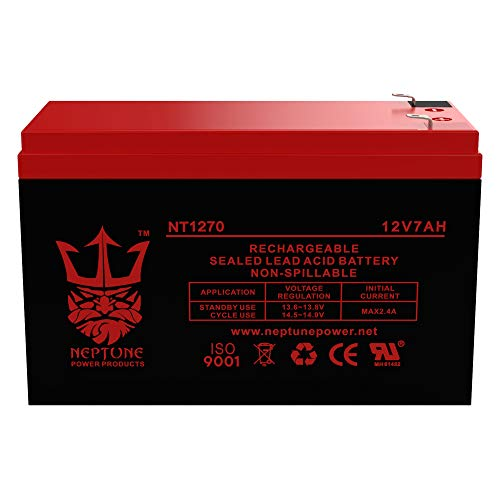 12V 7AH Replacement Battery for ADT 477967 by Neptune