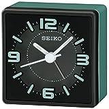 Seiko Sei Bedside Alarm Clock, Green